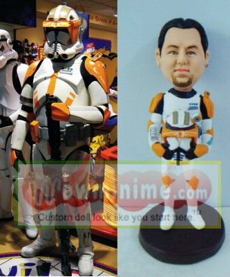 Star War Figurine - Commander Cody 10734