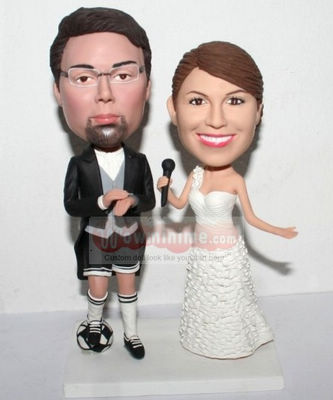 Kilts wedding cake toppers 1132