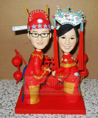 Traditional Chinese Wedding Dolls 10616