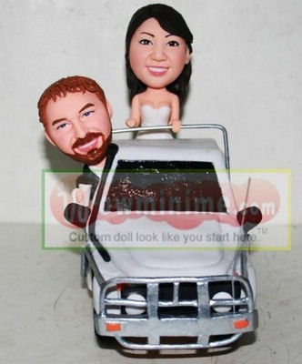 custom cake toppers- road vehicle - 10794