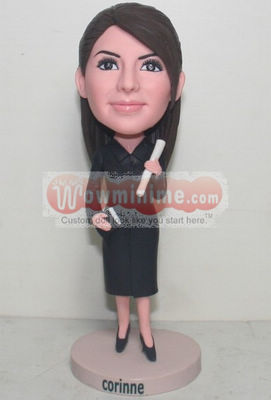 Custom dolls for teacher 875