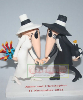SPY VS SPY wedding cake toppers- 10932