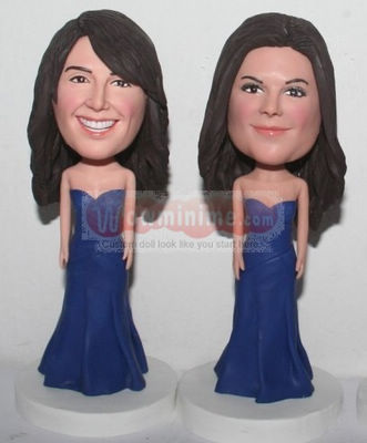 Bridesmaid Personalized Figurine BB27