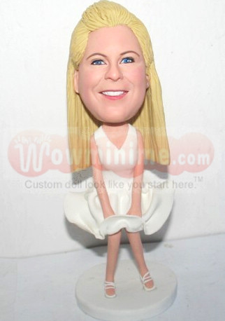 Marilyn Monroe personalized figurines