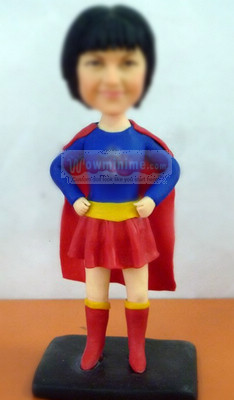 Superwoman personalized figurines