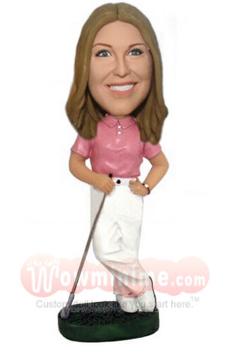 Female Golfer custom doll