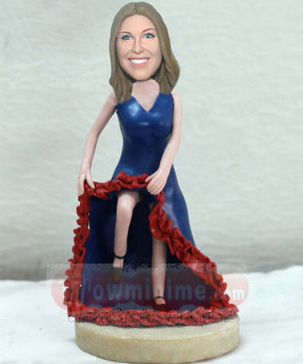 Fashional Lady figurine