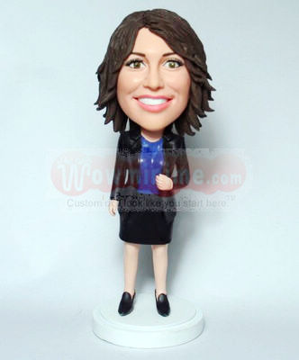 Office Lady Custom figurine