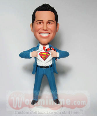 Superman transform Custom figurines