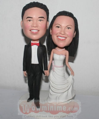 Wedding cake toppers BW26
