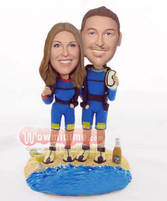 Scuba Diving cake toppers BW65