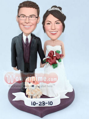 Sweethearts cake toppers BW72
