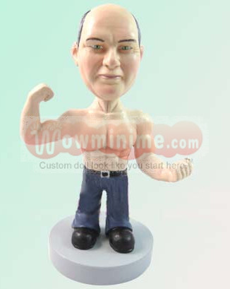 custom dolls look like you - muscleman D-174