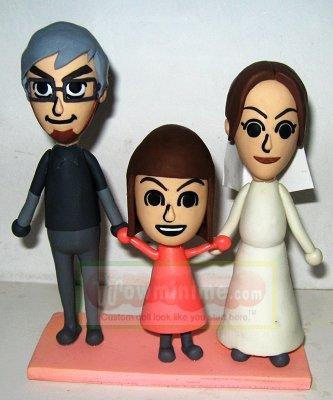 custom cartoon dolls- Nintendo Wii
