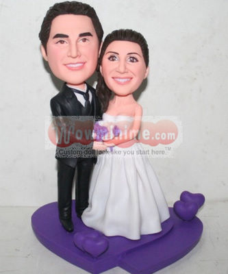 Custom cake toppers - Purple L29