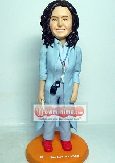 custom doctor / doctress doll - 091016