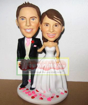 custom wedding cake topper- 100210