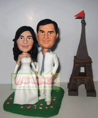custom wedding cake topper- 100201