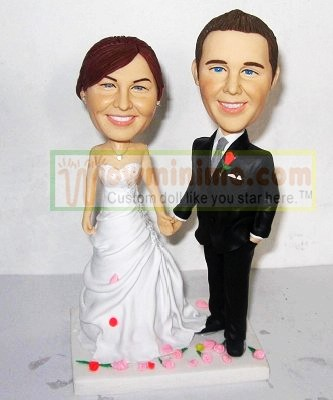 wedding cake figurine- 566-10219