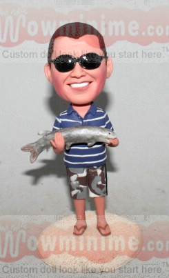 Custom Fishing Dolls